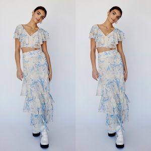 Free People Petal Co-Ord - Skirt Set NWOT